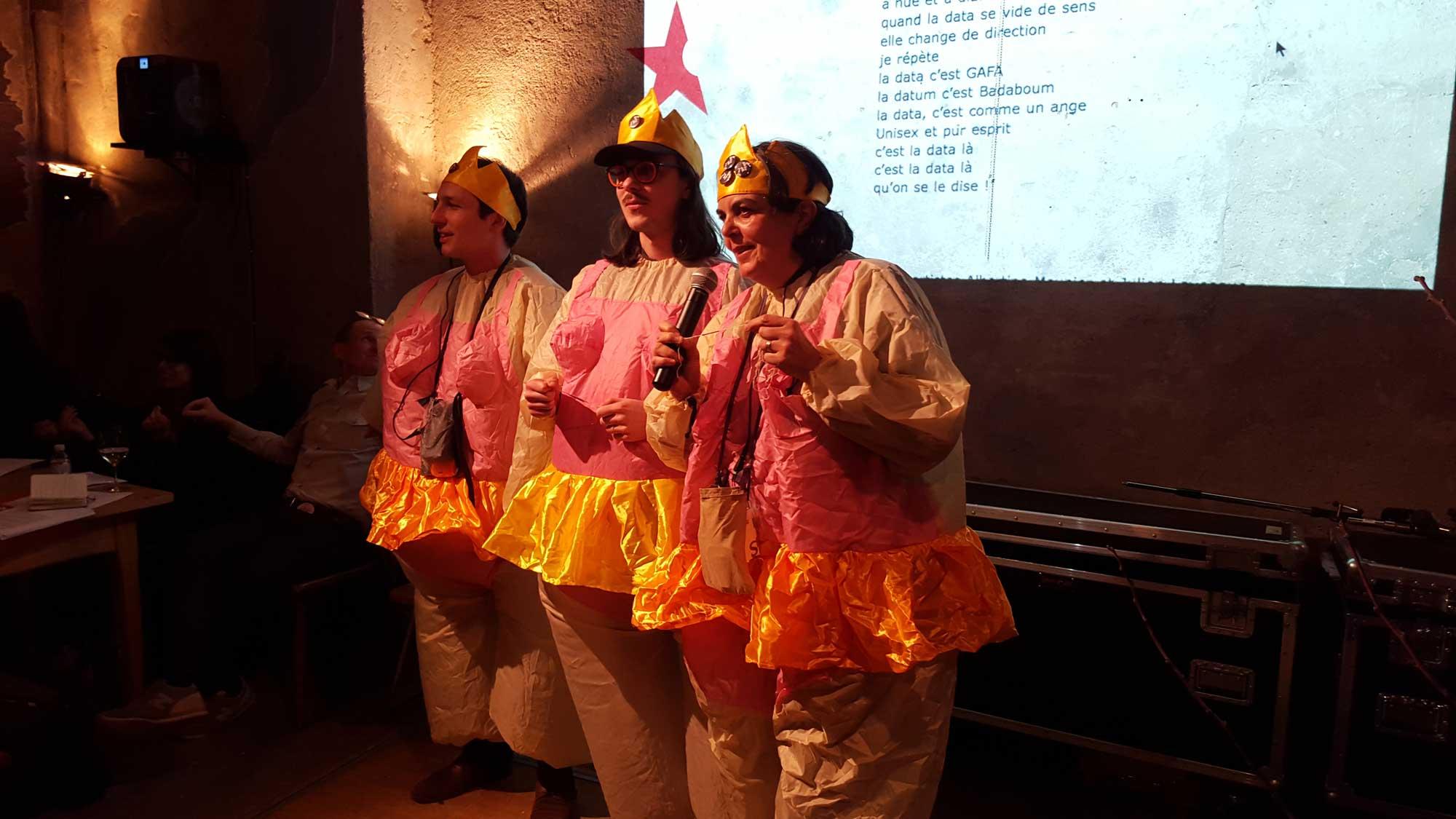 Performance Badaboum a Gogo au Cabaret Voltaire, Zurich