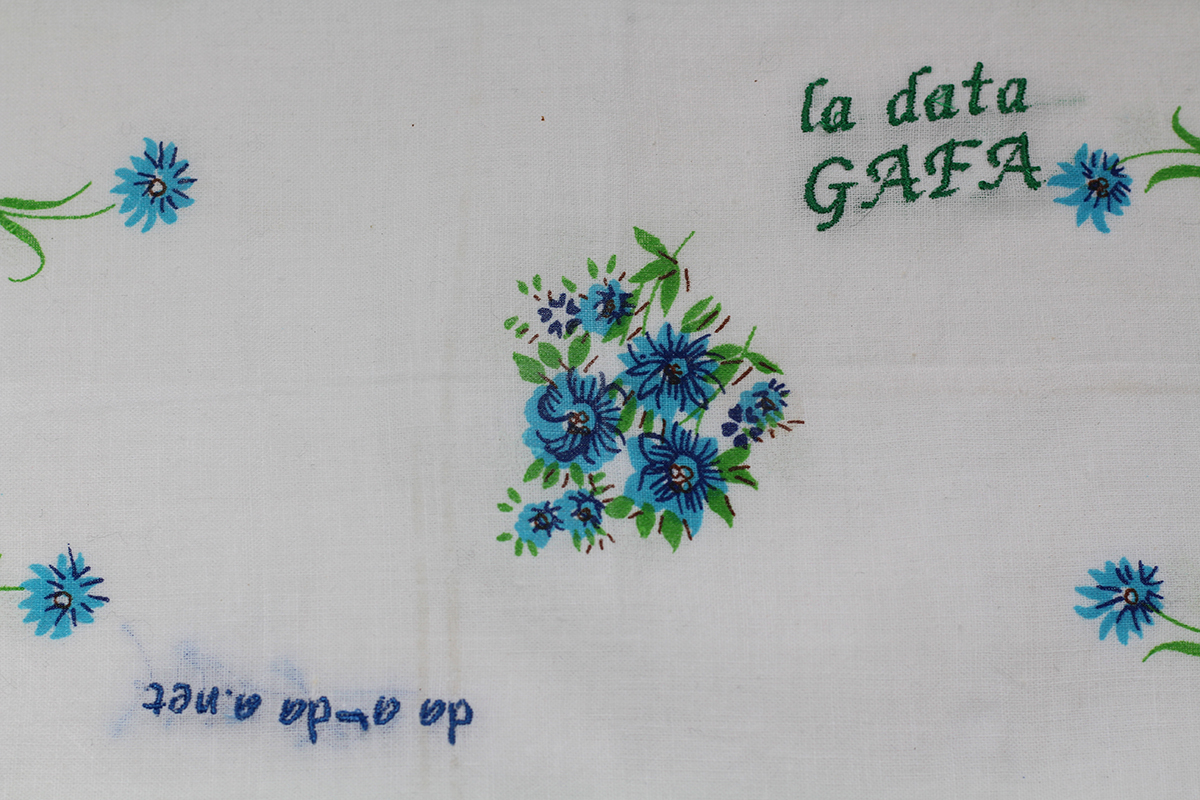 Series Data GAFA // Handkerchief GAFA da a-da a.net (zoom) // Blockchain ID : 17xEQY7WED9xehsKofYat13HNaUsT9S1pn