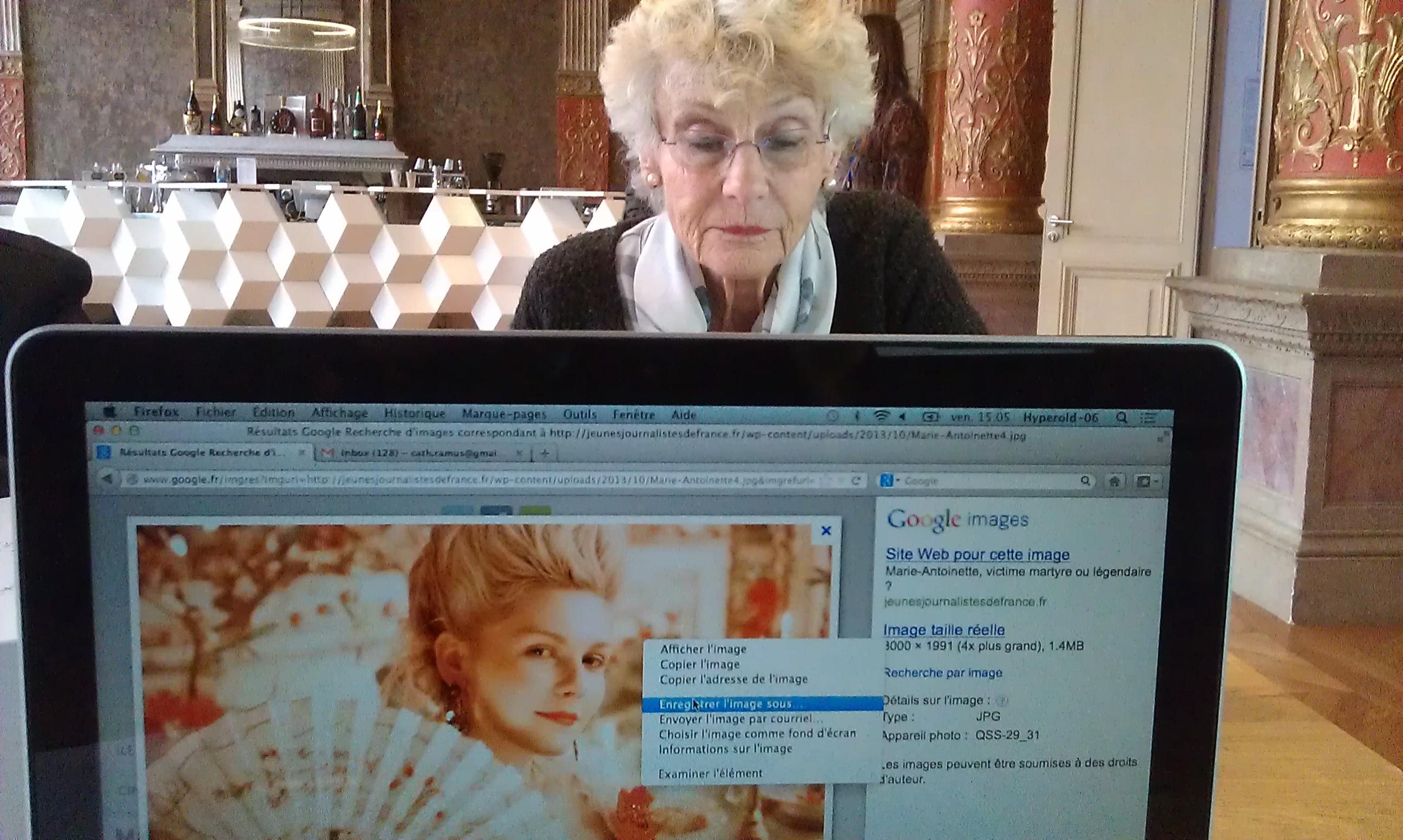Nicole et Marie-Antoinette version web . Photo : F. Mit