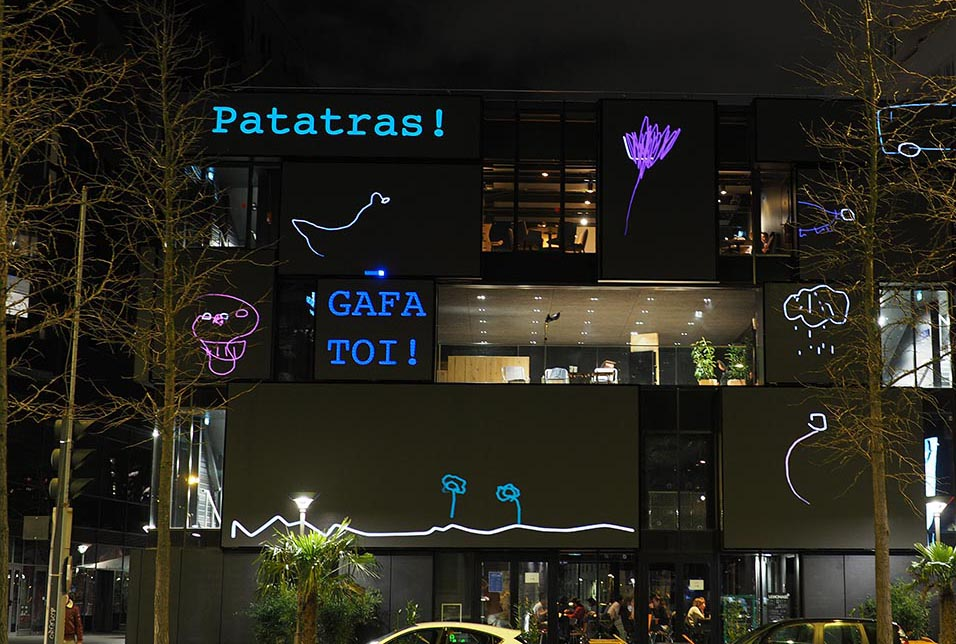 A.I is drawing, GAFA TOI ! Patatras (Word Game GAFA TOI ! Be Careful ! )